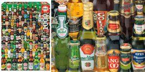 Puzle Cervezas del mundo de 1.000 piezas Educa Borras Genuine barato