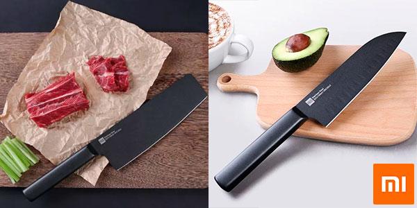Chollo Set de cuchillos Xiaomi Mijia antiadherentes
