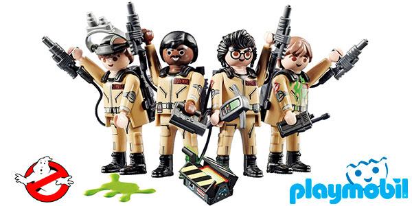 Chollo Set Playmobil Cazafantasmas con 4 figuras protagonistas