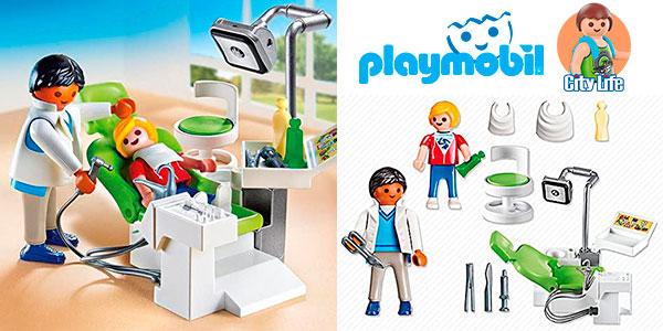 Chollo Set Dentista con paciente de Playmobil