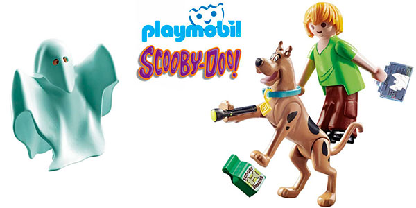 Chollo Set Scooby-Doo & Shaggy con Fantasma de Playmobil