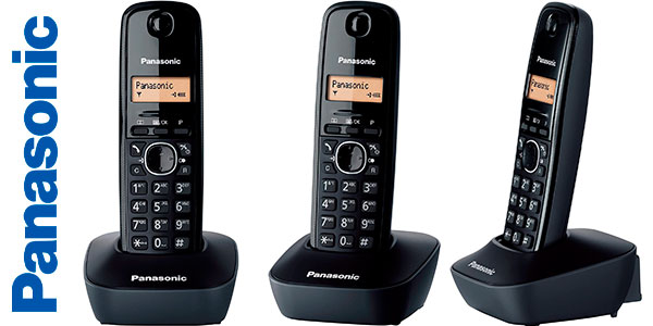 Chollo Teléfono fijo inalámbrico Panasonic KX-TG1611SPH