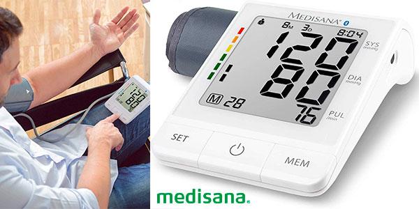 Chollo Tensiómetro de brazo Medisana Connect BU-530 con Bluetooth