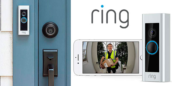 Chollo Timbre Ring Video Doorbell Pro