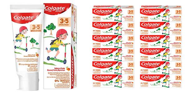 Pasta de dientes infantil Colgate niños 3-5 años anticaries sabor fruta oferta