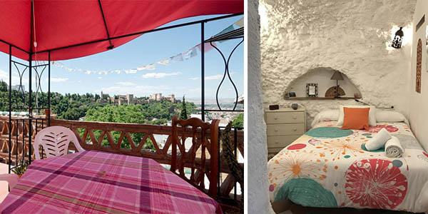 La Constanza casa cueva en Granada de relación calidad-precio alta