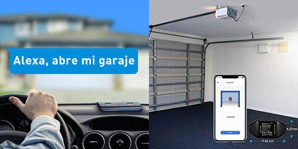 Controlador WiFi para puerta de garaje Meross barato