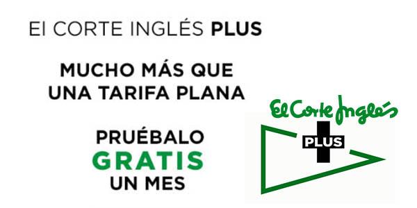 El Corte Inglés Plus promoción