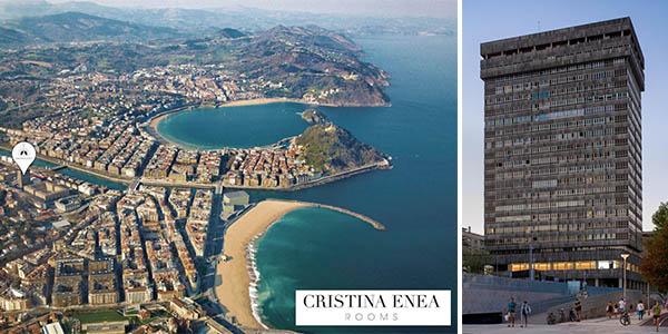 Cristina Enea Rooms en Donosti alojamiento de relación calidad-precio alta