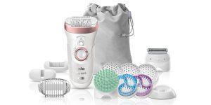 Braun Silk-épil 9 9/990 SkinSpa + 13 accesorios barata en Amazon