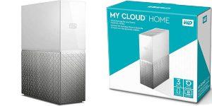 Disco duro Western Digital My Cloud Home de 3 TB
