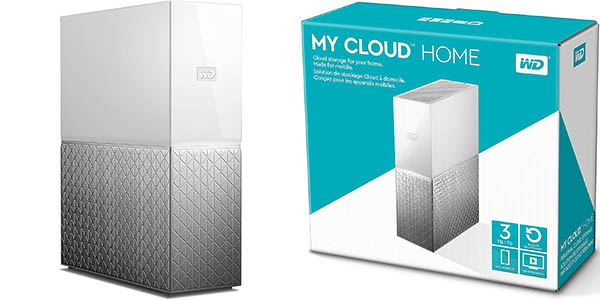 Disco duro Western Digital My Cloud Home de 3 TB