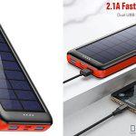 batería externa Ekrist con carga solar chollo