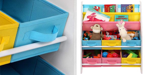 Estantería organizadora para juguetes Songmics chollo en Amazon