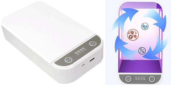 Esterilizador ultravioleta para móviles