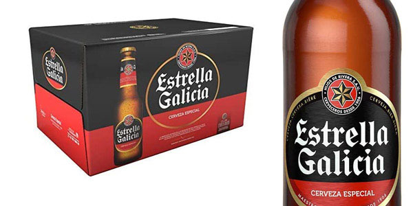 Estrella Galicia barata en Amazon