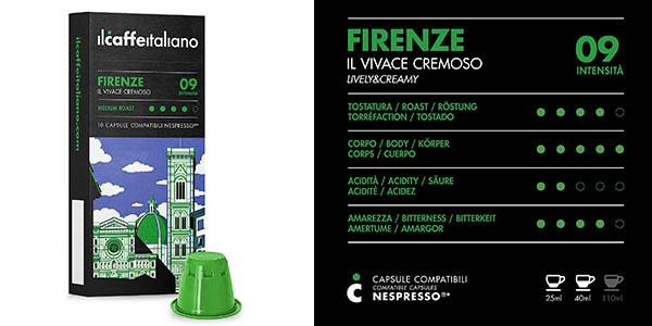 Frhome Firenze cápsulas de café compatibles con Nespresso chollo