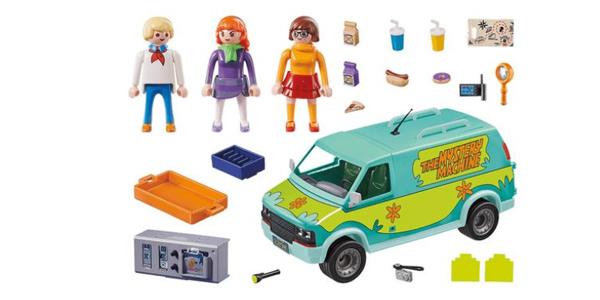 Furgoneta Playmobil Scooby-Doo La Máquina del Misterio chollo en Amazon