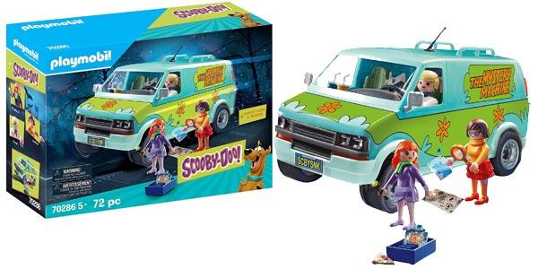 Furgoneta Playmobil Scooby-Doo La Máquina del Misterio barata en Amazon