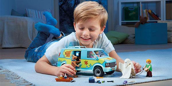 Furgoneta Playmobil Scooby-Doo La Máquina del Misterio oferta en Amazon