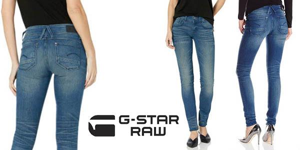G-Star Raw Lynn Mid Waist Skinny chollo