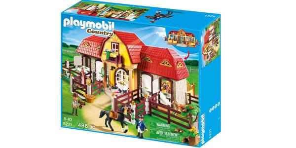 Granja de Ponis con Establo Playmobil Country (5221) chollo en Amazon