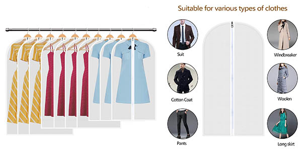 HBSelect Bolsas para ropa baratas