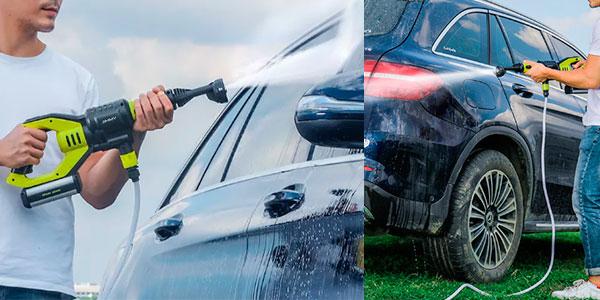 Hidrolimpiadora a presión Xiaomi Jimmy para el coche en Banggood