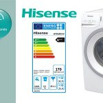 Hisense WFGA8014V lavadora de 8 kg oferta