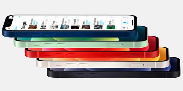 iPhone 12 en varios colores
