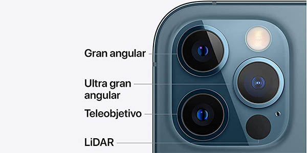 iPhone 12 Pro y iPhone 12 Pro con triple cámara pro