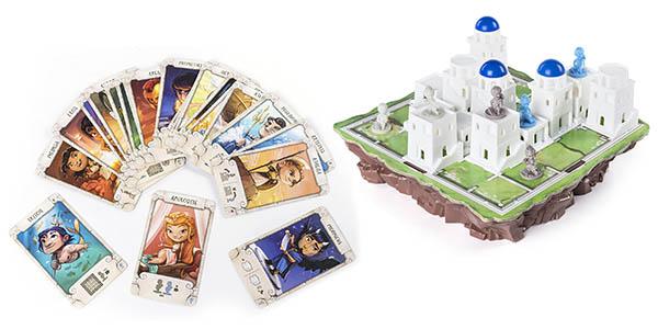 juego de cartas y estrategia Santorini chollo
