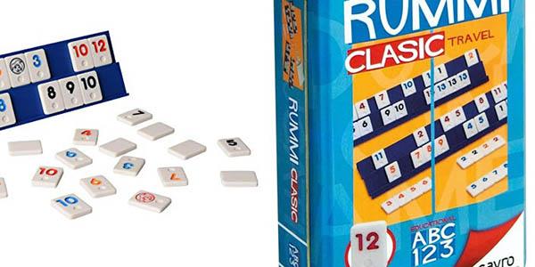juego familiar Rummi Clasic edición viaje en oferta