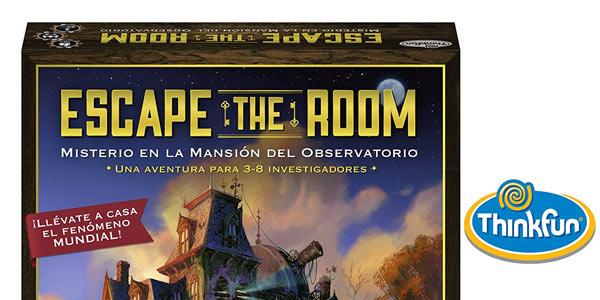 Juego de mesa Escape The Room: Misterio en la Mansión del Observatorio oferta en Amazon