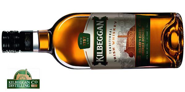 Botella Kilbeggan Irish Whisky de 700 ml barato en Amazon