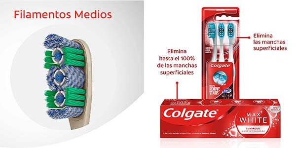 kit blanqueador dental Colgate Max White Luminous en oferta
