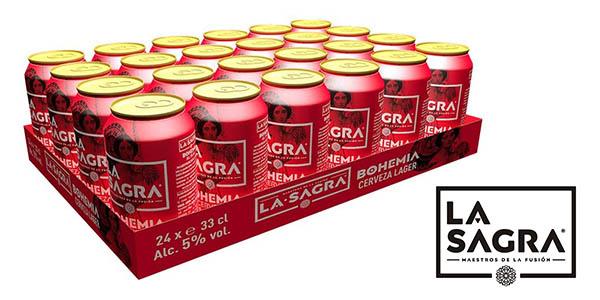 La Sagra Bohemia cerveza lager chollo