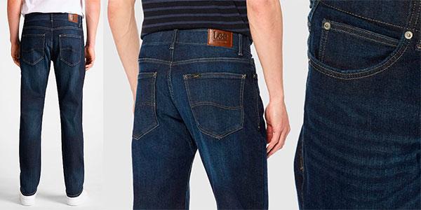 Pantalones vaqueros Lee Straight Fit XM In Trip para hombre en oferta