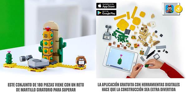 LEGO Set de expansión Super Mario Pokey del Desierto oferta