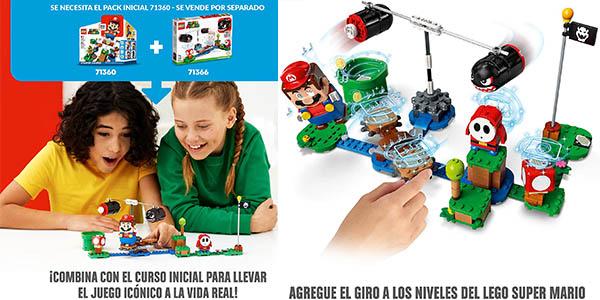 LEGO Super Mario Set de expansión Avalancha Bill de Balanzos a precio de chollo