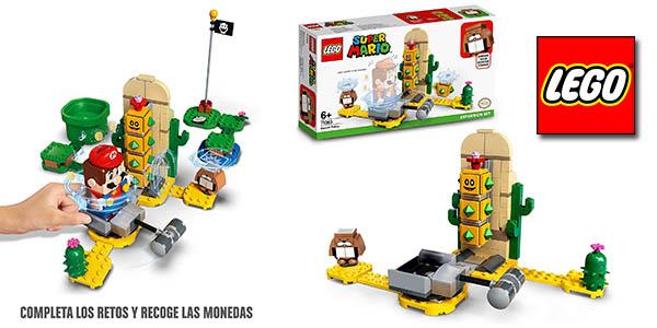 Lego Super Mario Set expansión Pokey desierto oferta