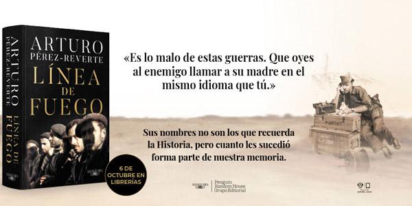 Reservar Libro Línea de fuego de Arturo Pérez-Reverte versión Kindle barato en Amazon
