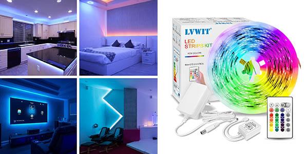 LVWIT Tira LED a precio de chollo