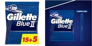 Maquinillas desechables Gillette Blue baratas en Amazon