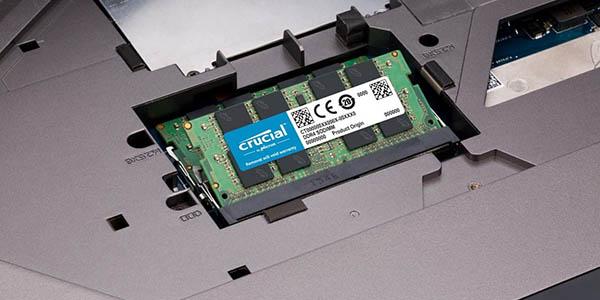 Memoria RAM Crucial DDR4 SODIMM de 16 GB barata