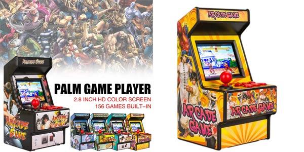 Mini recreativa en miniatura Arcade Classic Retro con 156 juegos barata en Amazon