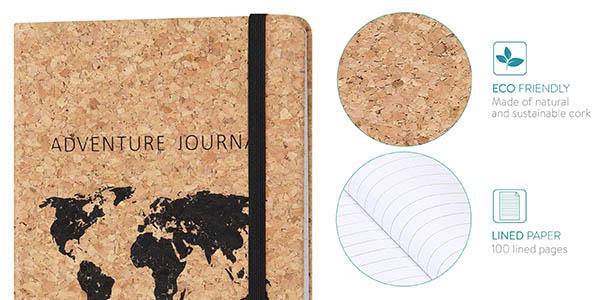 Navaris diario de notas de viaje de diseño ecológico a precio de chollo