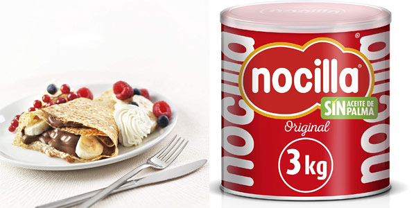 Nocilla Original 3Kg barata en Amazon