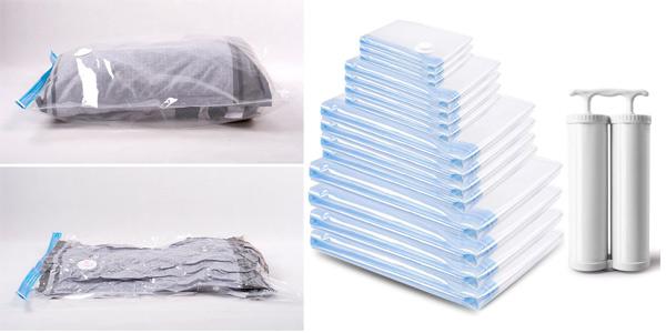 Pack x15 Bolsas al Vacío Mrs Bag para Ropa baratas en Amazon
