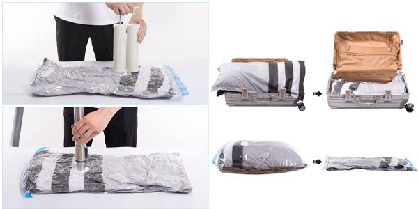 Pack x15 Bolsas al Vacío Mrs Bag para Ropa chollo en Amazon